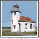 Point Robinson Lighthouse, WA Pattern Chart Graph