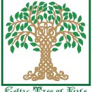 Celtic Tree of Life Pattern Chart Graph