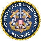 United States Coast Guard Seal pattern chart graph