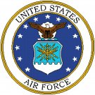 United States Air Force Seal pattern chart graph