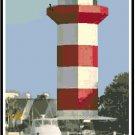 Hilton Head Lighthouse, SC Pattern Chart Graph