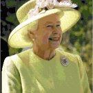 Her Majesty Queen Elizabeth II Pattern Chart Graph