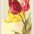 Tulips 2 by Catherine Klein Pattern Chart Graph