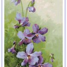 Spring Violets by Catherine Klein Pattern Chart Graph