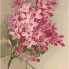 Pink Lilacs by Catherine Klein Pattern Chart Graph