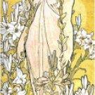 The Lily by Alphonse Mucha Pattern Chart Graph