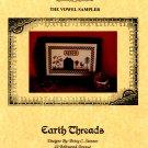 The Vowel Sampler by Betsy Stinner Cross Stitch Leaflet