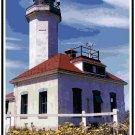 Point Wilson Lighthouse, WA Cross Stitch Pattern Chart Graph