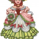 English Doll of the World Cross Stitch Pattern Chart Graph