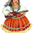 Mexican Doll of the World Cross Stitch Pattern Chart Graph