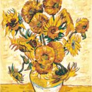 Van Gogh - Sunflowers 2 Pattern Chart Graph
