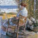 The Sea by Frederick Childe Hassam Pattern Chart Graph