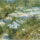 The Water Garden by Frederick Childe Hassam Pattern Chart Gramp