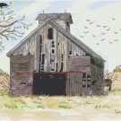 Illinois Barn by Kate Robards Pattern Chart Graph
