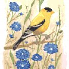 Summer Goldfinch by Kate Robards Pattern Chart Graph