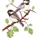 Spring Chickadees by Kate Robards Pattern Chart Graph