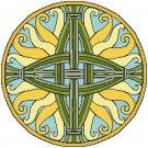St. Bridget of Ireland Cross Symbol Pattern Chart Graph