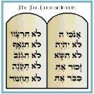 The Ten Commandments Pattern Chart Graph