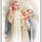 Mother Mary's Kiss Pattern Chart Graph