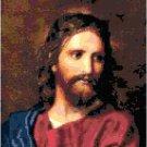 Portrait of Jesus Christ by Heinrich Hofmann Pattern Chart Graph