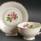 Footed Cup & Saucer