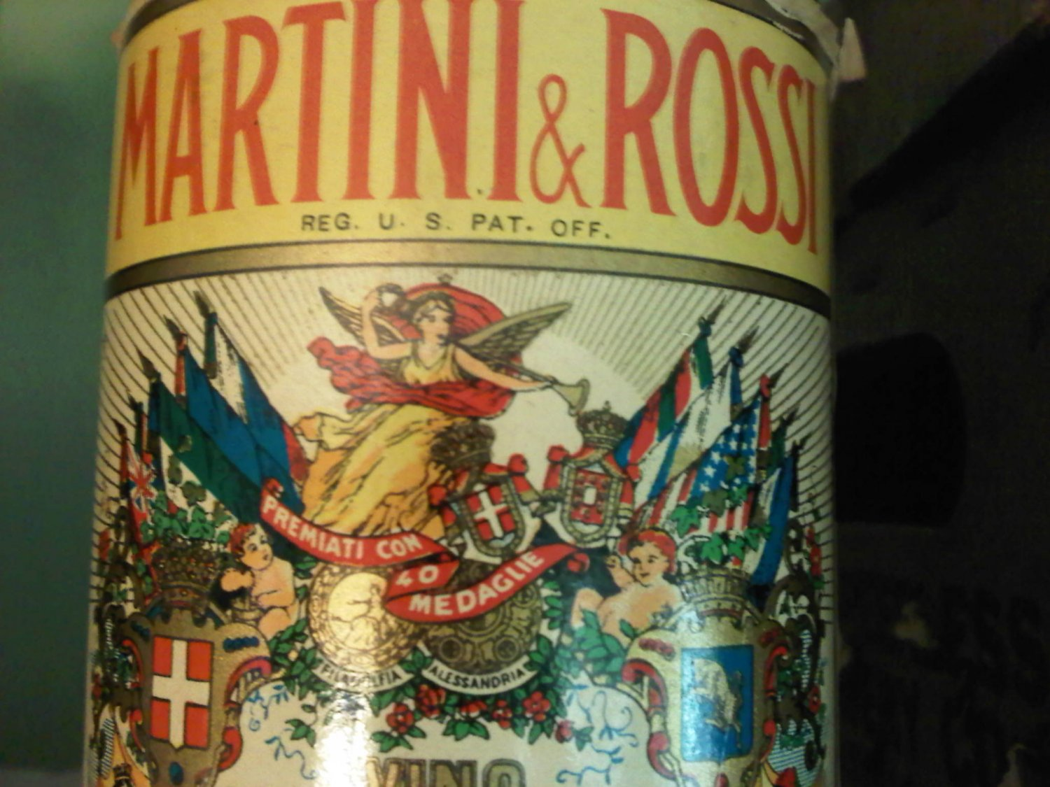 Martini & Rossi Vintage Vermouth Bottle Red Sweet 375 ml