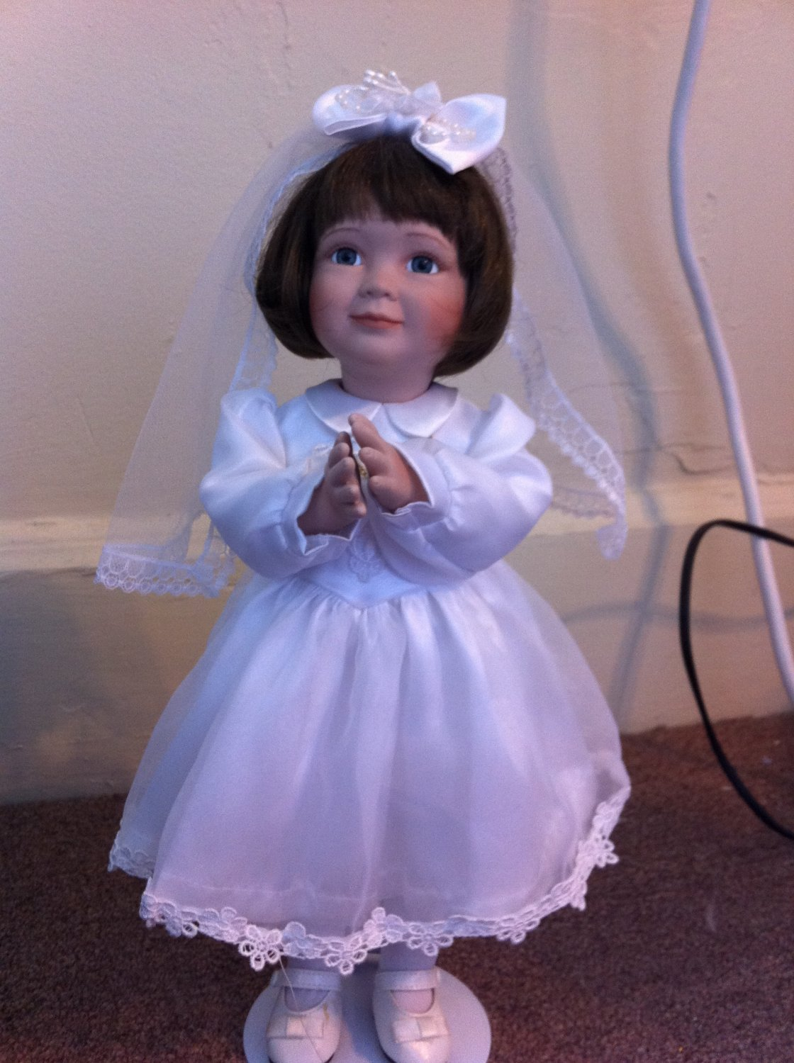 Ashton Drake Quot First Communion Quot Porcelain Doll