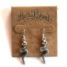 Exotic Small Snake Dangle Drop Lucky Brand Earrings