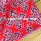 Fr*nkly Scarlet Main Cotton Fabric 1 yd x 57""