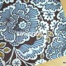 "Sl*te Blooms Main Cotton Fabric 1 yd x 57"""