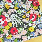 Poppy Fi*lds main Cotton Fabric 1 yd x 57""
