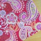 "Raspberrt F*zz main Cotton Fabric 1 yd x 57"""