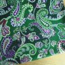 "Chelsea Gr*en main Cotton Fabric 1 yd x 57"""