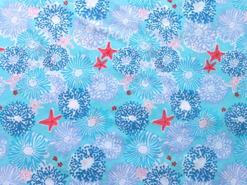 Authentic Lilly Pulitzer Star Sighting Cotton Fabric 1 YD x 57 Inch