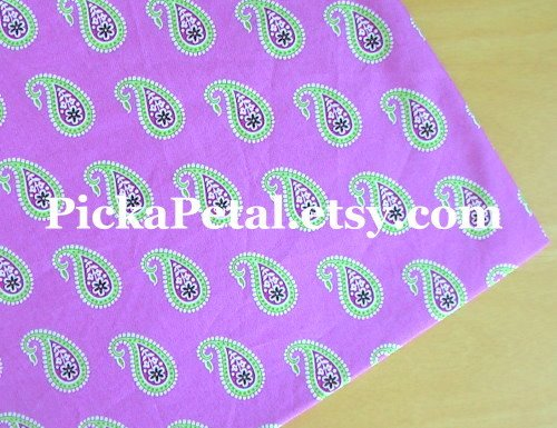 "Bermuda P*nk main Cotton Fabric 1 yd x 57"""