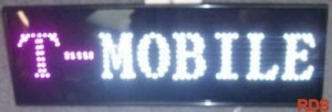 T MOBILE LED SHOP SIGN CELL PHONE MOBILE SIGN