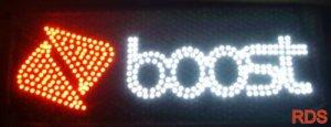 BOOST LED CELLPHONES MOBILE LED FLASHING SHOP SIGN
