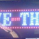 DRIVE THRU ARROW LED SIGN  SHOP SIGN FLASHING