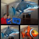 RC Flying Remote Control Fun Inflatable Floating Fish Shark Toy New