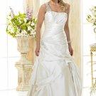 Custom made A-line wedding dresses 2011 AD016