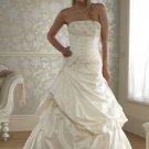 Custom made A-line wedding dresses AD017