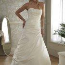 Custom made A-line wedding dresses AD020