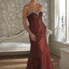 Custom made red wedding dresses ADW255