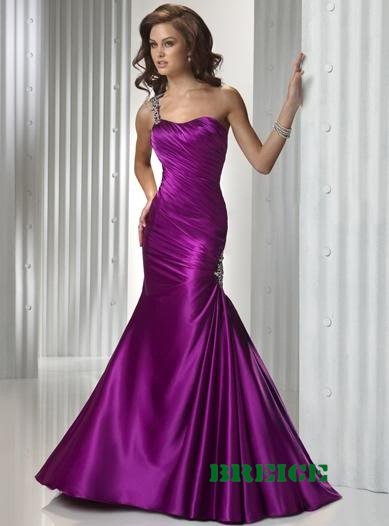 Purple Long Evening Dresses Prom Formal Gowns 01
