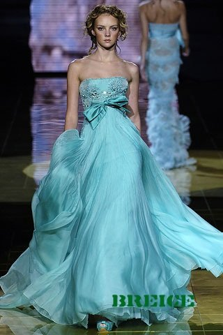 Blue Long Evening Dresses Prom Formal Gowns 02