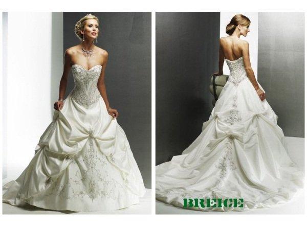 Elegant Wedding Dress Bridal Ball Gowns 30