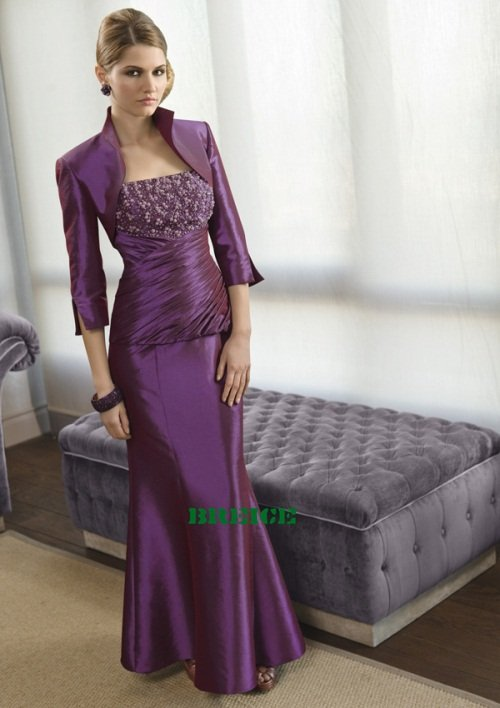 Custom Made Mother of The Bride Dresses Wedding Guest Dress M005