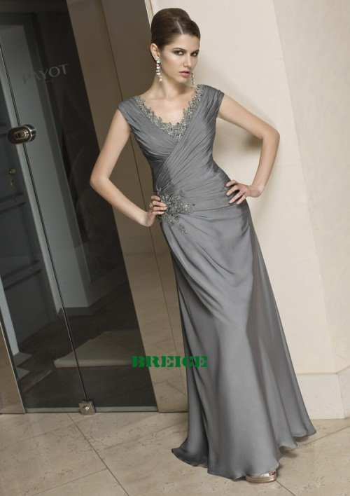 Custom Made Mother of The Bride Dresses Wedding Guest Dress M008