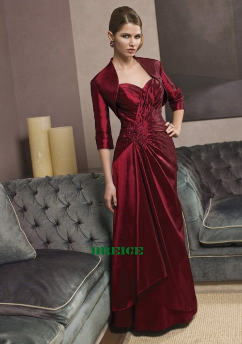 Custom Made Mother of The Bride Dresses Wedding Guest Dress M016