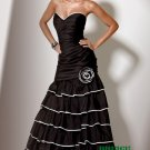 Black Long Evening Dresses Prom Party Formal Gowns J03